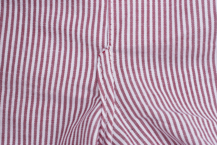 Stripey Measure Twice / Cut Once Darcy Boxers: Front Crotch