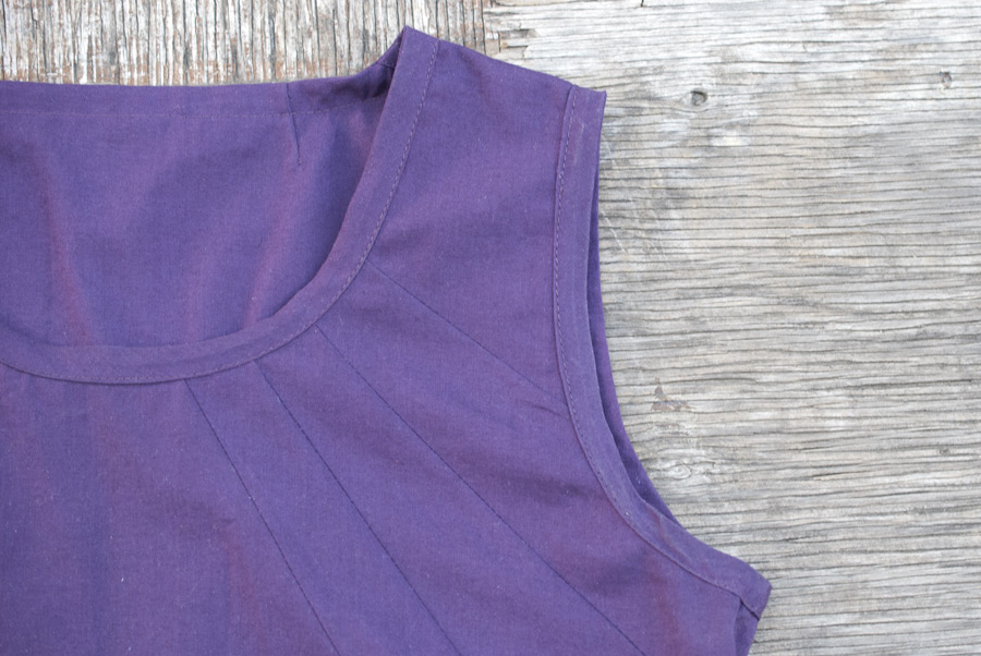 Purple Tank Top: Inside