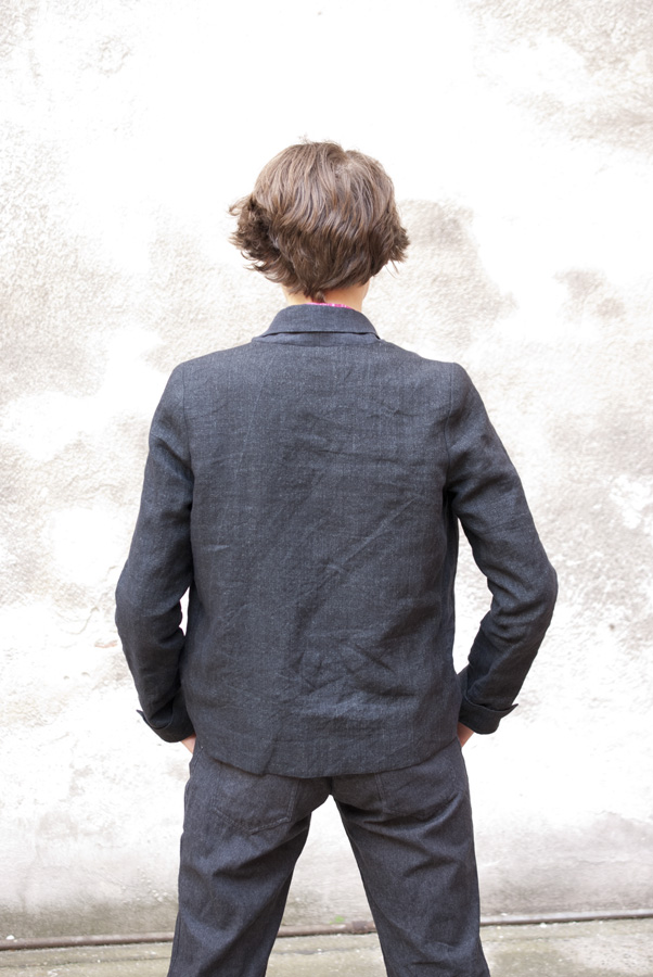 """Control-Freak"" By Hand London Victoria Blazer: Back"