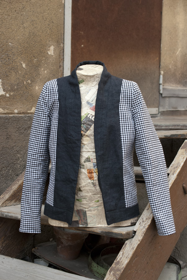 """Control-Freak"" By Hand London Victoria Blazer: Lining Front"