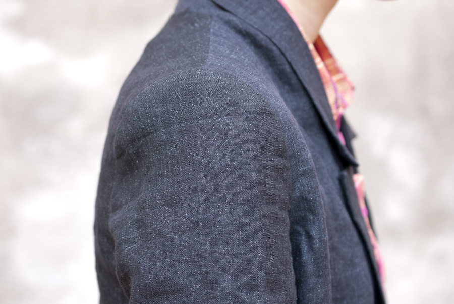 """Control-Freak"" By Hand London Victoria Blazer: Sleeve Head"