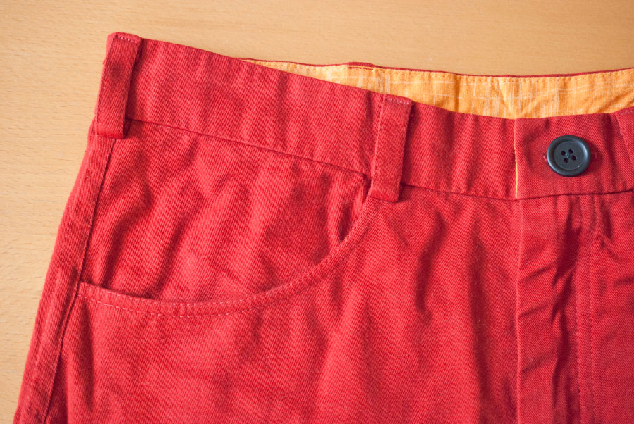 Bright Red Thread Theory Jutland Trousers: Belt Loops
